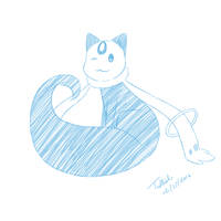 February Sketch: Make a Wish by trelliah