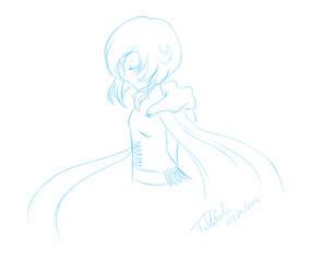 [June Sketch] Ruby [RWBY] by trelliah