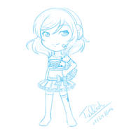 [July Sketch] Takaramonos (Love Live!) by trelliah