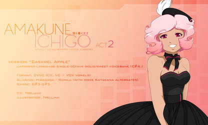 Amakune Ichigo ACT2 [caramel apple] RELEASE by trelliah