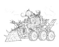 Orky Tank by Taytonclait