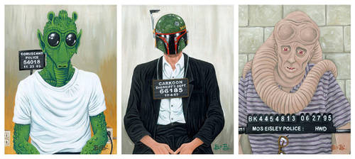 Star Wars Mugshots by ATLbladerunner