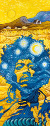 Jimi Van Gogh by ATLbladerunner