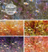 Photoshop Actions vol. 2 (4 vintage actions) by Heavensinyoureyes