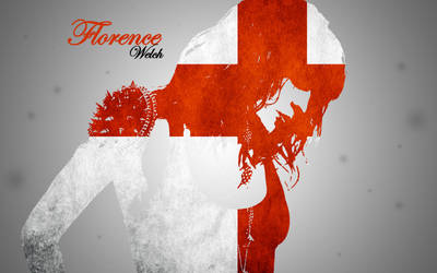 Florence Welch England Wallpaper by PiroRM