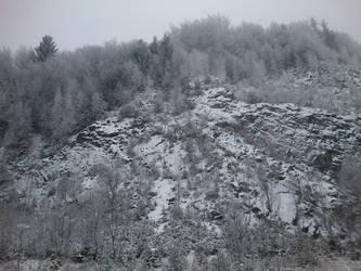 Winter mountain by Anaterka