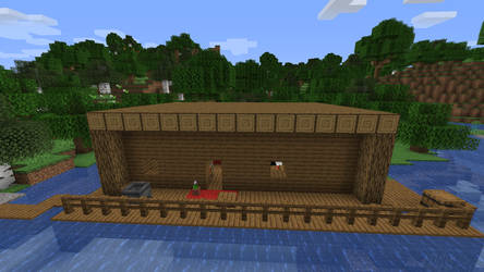 Matts house in Minecraft Outside by GermanMiner13