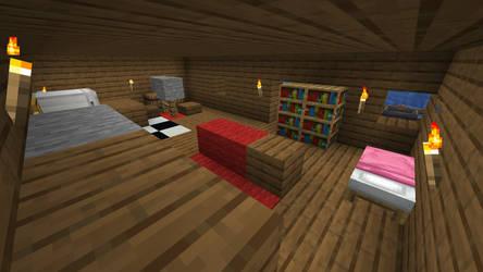 Matt`s House in Minecraft Inside by GermanMiner13