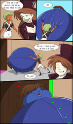Why So Blue?_Blueberry Girl TF/TG Page 4 by TFSubmissions