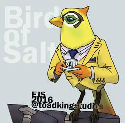 Scowling Genymede Bird of Salt design by toadking07