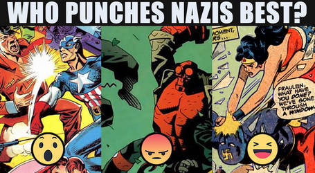 Nazi Punching Vote Meme by toadking07