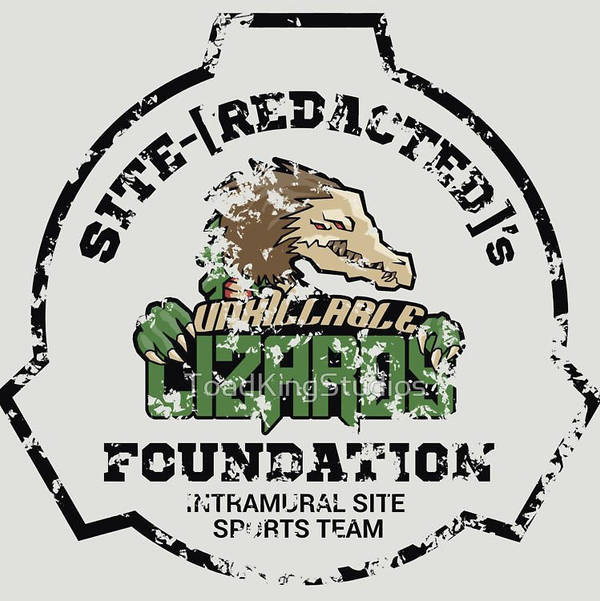 Weathered Style Unkillable Lizards Sports Logo by toadking07