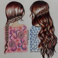 Braids for girls by erindwiazmi