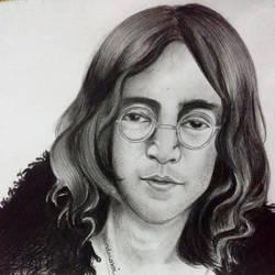 John Lennon by erindwiazmi