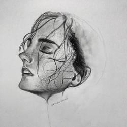WIP Emma Watson by erindwiazmi