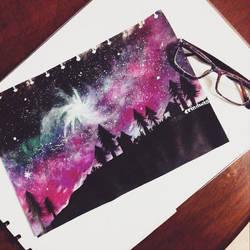 Space Art by erindwiazmi