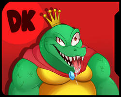 New Challanger King K Rool by Ken-the-Eagle