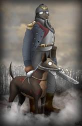 Death Hound of Krieg by Empyronaut