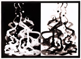 Photogram - Painting with Developer by Kristina86