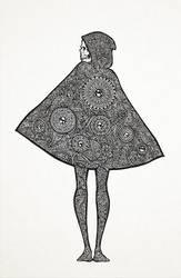 Little Black Riding Hood by dotsslashlines