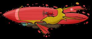 Untitled Airship - 'MLP:LtA' by Chobittsu-Studios