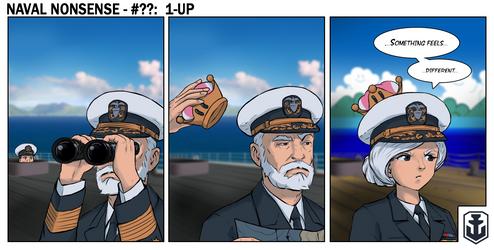 Naval Nonsense - 1-Up by Chobittsu-Studios