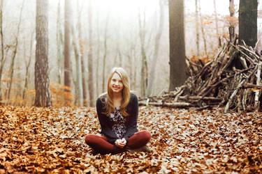 at the end of November V by Rona-Keller