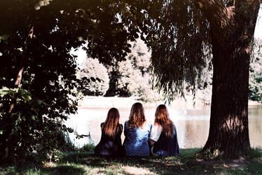 old friends by Rona-Keller