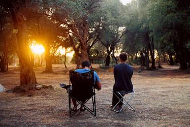 together in solitude by Rona-Keller