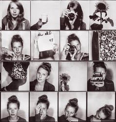 a little photo booth series by Rona-Keller