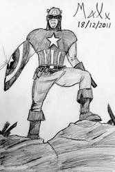 Captain America by MaXx-Ownage