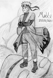 Sage Mode Naruto by MaXx-Ownage