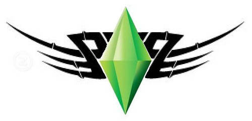 The Sims Plumbob Tattoo Design by MaXx-Ownage