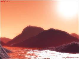 First Terragen Landscape by Ady333