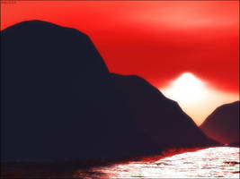 Second Terragen Landscape by Ady333
