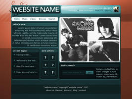 Audio Site Template by Ady333
