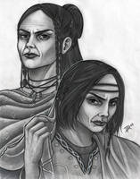 Vegsajida and Vegsasab by Neferu