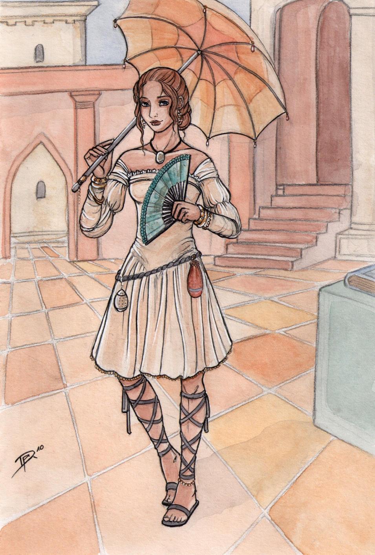 Alessandra 1 by Neferu