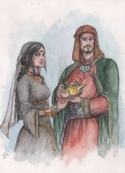 Arttrade: Necaris and Rashim by Neferu