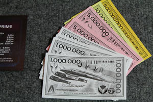 Mass Effect Monopoly Money Detail by tommyfilth