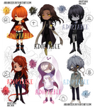 [Adopt Auction] Little Monsters 3 (CLOSED) by AriaRozen
