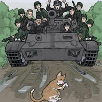 'Panzer Halten' by DarkCloak