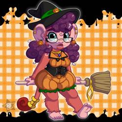 Halloween Chibi - Macaron by CaramelKitt