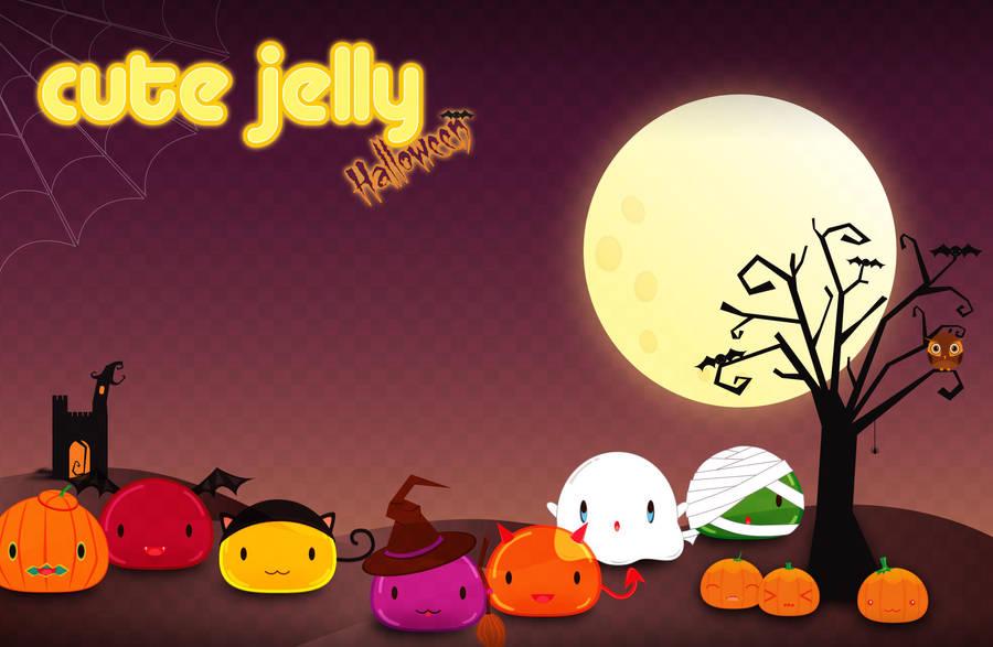 Cute Jelly Halloween by lyriabrokenwings