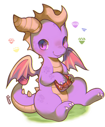 Spyro by foxlett