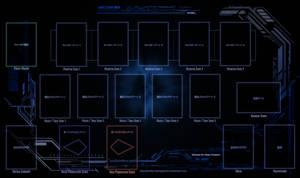 [YuGiOh] Tech Playmat - MTG Pendulum by Swifty-TheVagabond