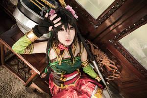 Dynasty Warriors 8 - Guan YinPing by maocosplay