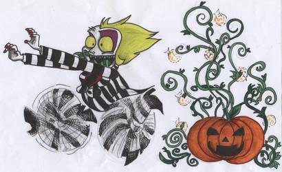 Beetlejuice_Danger Pumpkin by sucker1317sfiga
