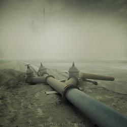 Toxic city by Alshain4