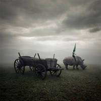 Rhino rider by Alshain4